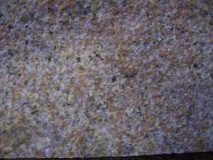 Material Granit Gelb