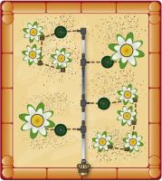 Hochbeet Bewässerung Montage Schritt 5a