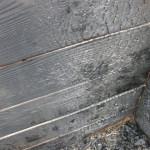 Nach dem Feuer im Holzhochbeet 1