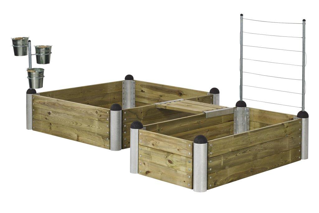 hochbeete im pipe modulsystem jetzt auch komplettsets. Black Bedroom Furniture Sets. Home Design Ideas